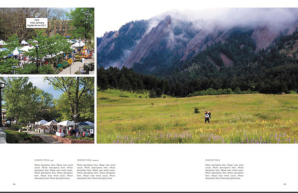 """From: """"Boulder, Colorado: A Photographic Portrait"""" by John Kieffer. <br /> Private photo tours of Boulder by John."""