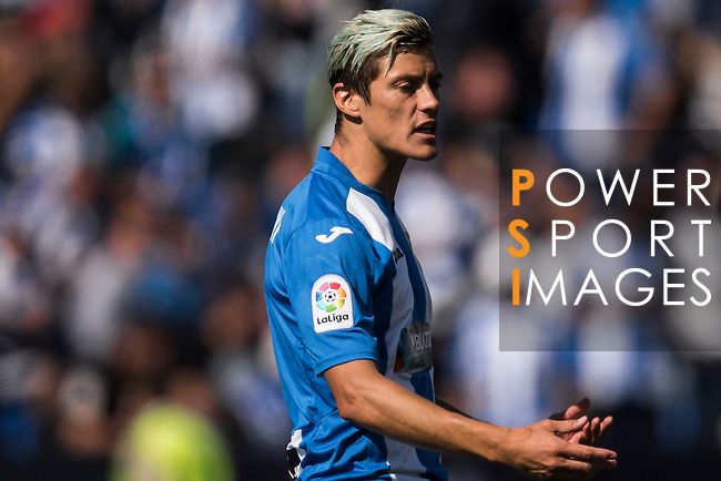 Martin Mantovani of Deportivo Leganes reacts during their La Liga match between Deportivo Leganes and Sevilla FC at the Butarque Municipal Stadium on 15 October 2016 in Madrid, Spain. Photo by Diego Gonzalez Souto / Power Sport Images