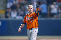 Cal State Fullerton Titans Jacob Pavletich (23) in action against the University of Washington Huskies at Goodwin Field on June 10, 2018 in Fullerton, California. The Huskies defeated the Titans 6-5. (Donn Parris/Four Seam Images)