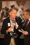 INTERNATIONAL FINANCE CENTER,HONG KONG-APRIL 21: The trainer,John Moore is interviewed at  Audemars Piguet QEII Cup Barrier Draw at Sha Tin Racecourse on April 21,2016 in Sha Tin,New Territories,Hong Kong (Photo by Kaz Ishida/Eclipse Sportswire/Getty Images)