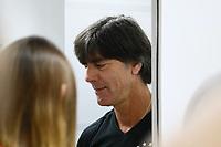 Bundestrainer Joachim Loew (Deutschland Germany) kommt zur Pressekonferenz - 24.06.2017: Pressekonferenz der Deutschen Nationalmannschaft, Fisht Stadium Sotschi
