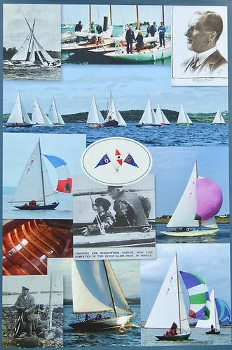 The back cover of James Nixon's new book on the River keelboat Class