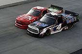 #4: Todd Gilliland, Kyle Busch Motorsports, Toyota Tundra Mobil 1,#45: Ross Chastain, Niece Motorsports, Chevrolet Silverado Florida Watermelon Association