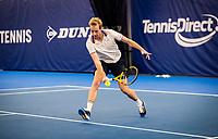 Amstelveen, Netherlands, 16  December, 2020, National Tennis Center, NTC, NK Indoor, National  Indoor Tennis Championships, : Botic van de Zandschulp (NED) <br /> Photo: Henk Koster/tennisimages.com
