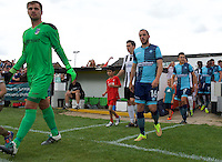 Michael Harriman of Wycombe Wanderers comes out for the Friendly match between Maidenhead United and Wycombe Wanderers at York Road, Maidenhead, England on 30 July 2016. Photo by Alan  Stanford PRiME Media Images.