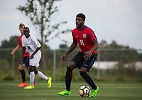Bradenton, FL - Friday April 15, 2017: The U.S. Soccer Under-17 Men's National Team plays the Monteverde Academy Eagles at IMG Academy.