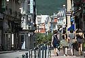 21/08/16 - AIX LES BAINS - SAVOIE - FRANCE - Rue du Casino - Photo Jerome CHABANNE