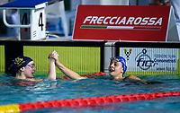 100 m Rana - Assoluti Femmine<br /> 4 PILATO Benedetta 2005 ITA Circolo Canottieri Aniene<br /> 5 CARRARO Martina 1993 ITA GS Fiamme Azzurre<br /> Riccione 17/12/20 Stadio del Nuoto <br /> Campionato Italiano 2020 FIN - Italian Swimming Championship<br /> Photo © Pasquale Mesiano/Deepbluemedia/Insidefoto