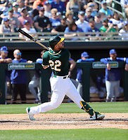Ramon Laureano - Oakland Athletics 2020 spring training (Bill Mitchell)