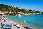 Croatia, Kvarner Gulf, Krk Island, Baska: popular resort | Kroatien, Kvarner Bucht, Insel Krk, Baska: beliebter Badeort im Suedwesten der Insel