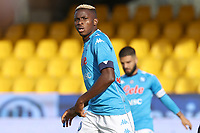 Victor Osimhen of SSC Napoli looks on<br /> during the Serie A football match between Benevento Calcio and SSC Napoli at stadio Ciro Vigorito in Benevento (Italy), October 25th, 2020. <br /> Photo Cesare Purini / Insidefoto