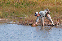 Jay Zimmerman; Carp Fly Fishing on Out-of-Towner Flats, Somewhere on the Front Range, Colorado