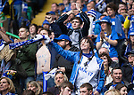 St Johnstone v Dundee United....17.05.14   William Hill Scottish Cup Final<br /> Delighted saints fans sfter Steven macLean made it 2-0<br /> Picture by Graeme Hart.<br /> Copyright Perthshire Picture Agency<br /> Tel: 01738 623350  Mobile: 07990 594431