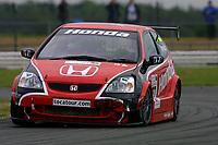 Round 4 of the 2002 British Touring Car Championship. #27 Alan Morrison (GBR). Honda Racing. Honda Civic Type-R.