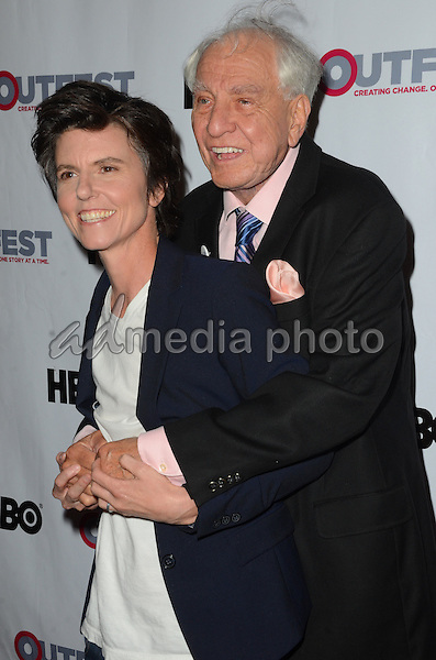 09 July 2015 - Los Angeles, California - Tig Notaro, Gary Marshall. Arrivals for the 2015 Outfest Los Angeles LGBT Film Festival Opening Night Gala of TIG held at The Orpheum Theater. Photo Credit: Birdie Thompson/AdMedia