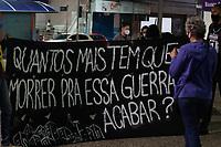 Campinas (SP), 13/05/2021 - Ato - Realizado na noite desta quinta-feira (13) no Largo do Rosário na cidade de Campinas (SP), Ato 13 de Maio de Luta, Dia Nacional de Denuncia Contra o Racismo.