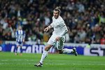 Real Madrid´s Gareth Bale celebrates a goal during 2015/16 La Liga match between Real Madrid and Deportivo de la Coruna at Santiago Bernabeu stadium in Madrid, Spain. January 09, 2015. (ALTERPHOTOS/Victor Blanco)