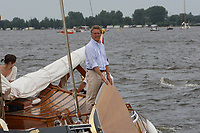 ALGEMEEN: SNEEK: Friese Statenjacht 'Friso' op de Snitser Mar, 2008, een boeier die in 1894 is gebouwd door Eeltje Holtrop van der Zee ('Eeltsjebaas') in Joure voor Baron van Harinxma thoe Slooten, ©foto Martin de Jong