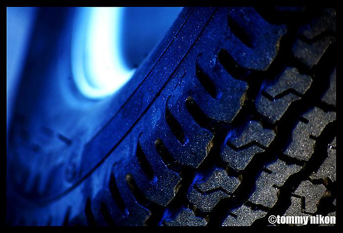 Tire tread of moto scooter