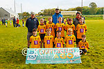 Every Child Gets a Go Blitz: The Listowel Emmetts U/10 team with their mentors John Carmody, Colin Browne & Siobhan Mahony at the Every Child gets a Go Blitz in Moyvane GAA grounds on Sunday last.