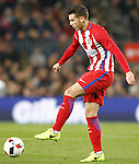 Atletico de Madrid's Lucas Hernandez during Spanish Kings Cup semifinal 2nd leg match. February 07,2017. (ALTERPHOTOS/Acero)