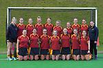 Southland team photo. 2021 National Women's Under-18 Hockey Tournament at National Hockey Stadium in Wellington, New Zealand on Sunday, 11 July 2021. Photo: Dave Lintott / lintottphoto.co.nz https://bwmedia.photoshelter.com/gallery-collection/Under-18-Hockey-Nationals-2021/C0000T49v1kln8qk