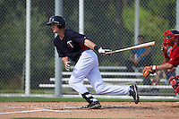 Minnesota Twins Brad Hartong (9) during an instructional league game against the Boston Red Sox on September 26, 2015 at CenturyLink Sports Complex in Fort Myers, Florida.  (Mike Janes/Four Seam Images)