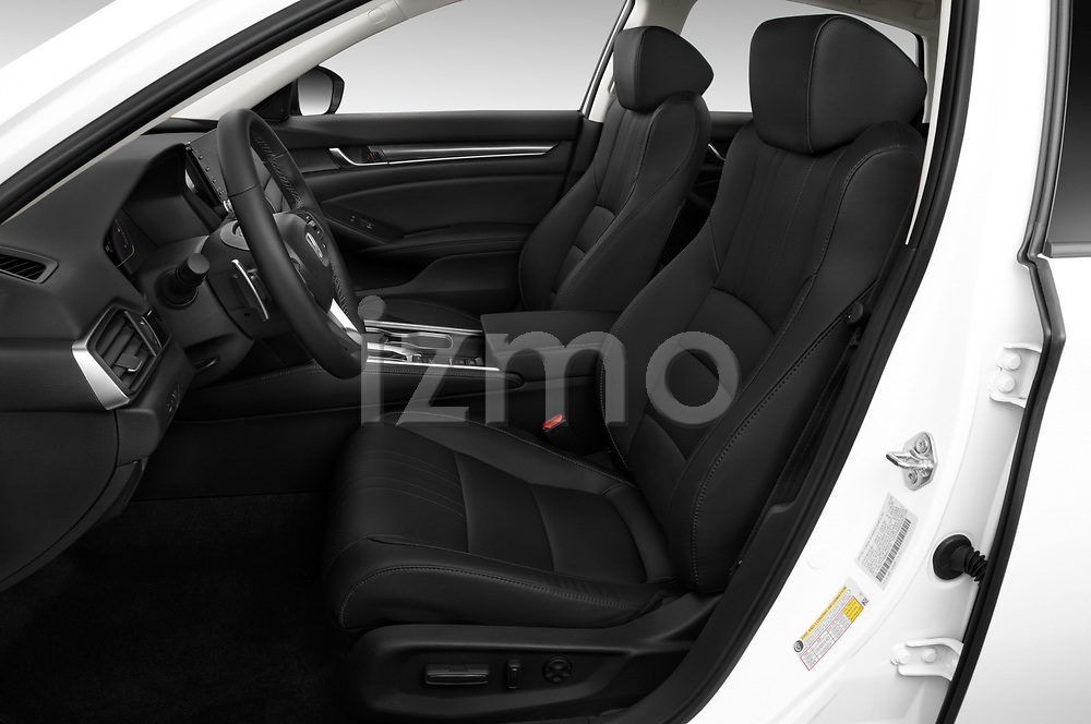 Front seat view of a 2021 Honda Accord Sedan Sport SE 4 Door Sedan