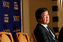 Former Foreign Ministry official Hitoshi Tanaka attends conference at FCCJ