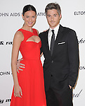 Odette Yustman and Dave Annable at the 19th Annual Elton John AIDS Foundation Academy Awards Viewing Party held at The Pacific Design Center Outdoor Plaza in West Hollywood, California on August 27,2011                                                                               © 2011 DVS / Hollywood Press Agency