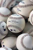 Major League Baseballs. Photo by Andrew Woolley / Four Seam Images..