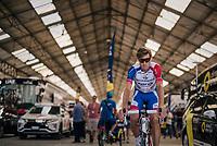 Tobias Ludvigsson (SWE/Groupama-FDJ) to sign-on<br /> <br /> Stage 18: Trie-sur-Baïse > Pau (172km)<br /> <br /> 105th Tour de France 2018<br /> ©kramon