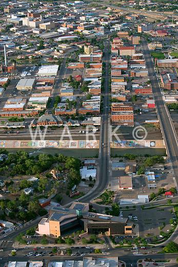 Pueblo, Colorado.  Mesa Junction and Historic District. June 2014. 85717