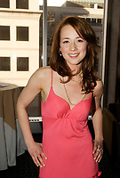Montreal (QC) CANADA - April 2006<br /> Karine Vanasse wear an Andy The Ahn Dress at the 2006 Gala FCTNM