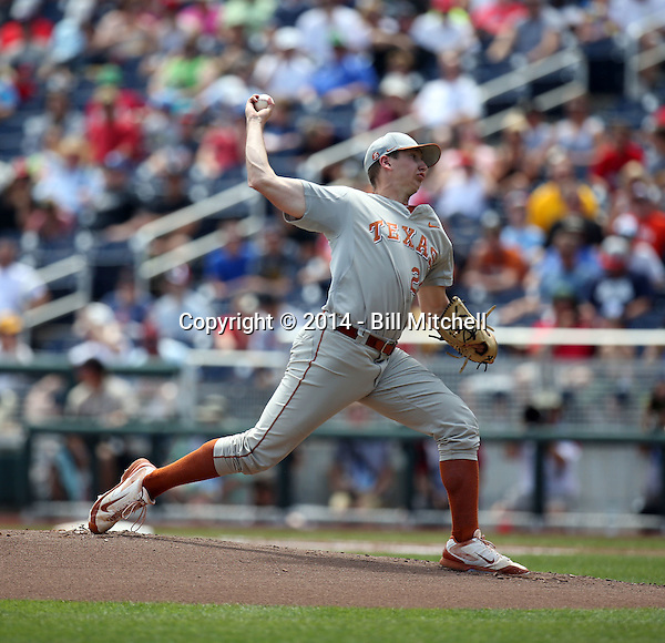 Parker French - 2014 Texas Longhorns (Bill Mitchell)
