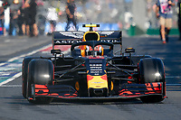 March 16, 2019: Pierre Gasly (FRA) #10 from the Aston Martin Red Bull Racing team leaves the pit to start the qualification session at the 2019 Australian Formula One Grand Prix at Albert Park, Melbourne, Australia. Photo Sydney Low