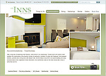 Web page showing interior shot of A townhouse at The Equinox Resort and Hotel in Manchester, Vermont for REI Corp.