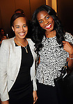 Leila Clewis and Eddrea McKnight at a VIP preview event for David Yurman's Meteorite Collection Tuesday Oct. 29,2013.  (Dave Rossman photo)