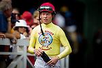 June 27 2015: Tyler Baze at Santa Anita Park in Arcadia CA. Alex Evers/ESW/CSM