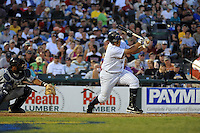 July 15, 2009:  Jorge Vazquez of the Trenton Thunder during the 2009 Eastern League All-Star game at Mercer County Waterfront Park in Trenton, NJ.  Photo By David Schofield/Four Seam Images