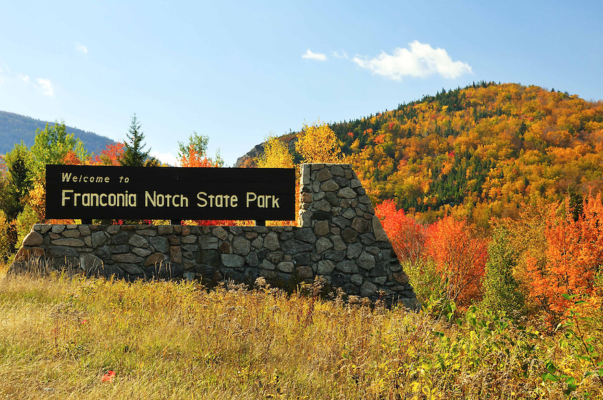 Welcome indeed !<br /> The Flume Gorge, The Basin, Profile Lake, and the Cannon Tramway, are just a few of the attractions located within New Hampshires' Franconia Notch State Park.