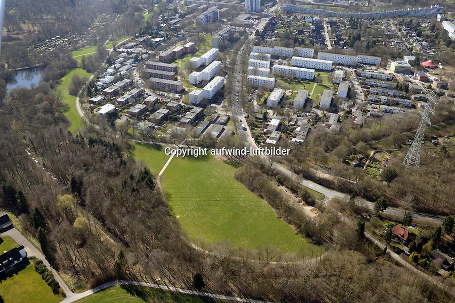 Bünt Wiese Lohbrügge: EUROPA, DEUTSCHLAND, HAMBURG, (EUROPE, GERMANY), 27.03.2017: Bünt Wiese Lohbrügge