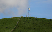 Pictured: The o2 4G mobile phone mast. Thursday 01 June 2017<br /> Re: There has been a 4G mobile phone mast installed at the village of Littlestay in Powys, Mid Wales.