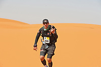 4th October 2021; Tisserdimine to Kourci Dial Zaid;  Marathon des Sables, stage 2 of  a six-day, 251 km ultramarathon, which is approximately the distance of six regular marathons. The longest single stage is 91 km long. This multiday race is held every year in southern Morocco, in the Sahara Desert.