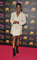 """Shan Ako at the """"Tina: The Tina Turner Musical"""" Refuge gala performance, Aldwych Theatre, Aldwych, on Sunday 10th October 2021, in London, England, UK. <br /> CAP/CAN<br /> ©CAN/Capital Pictures"""