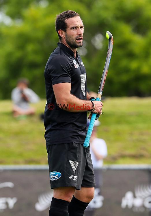 Dane Lett. International Hockey, Blacksticks men v Canada. Lloyd Elsmore Park, Auckland, New Zealand. Sunday 21 October 2018. Photo: Simon Watts/Hockey NZ