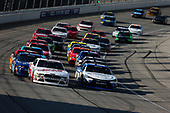 NASCAR XFINITY Series<br /> TheHouse.com 300<br /> Chicagoland Speedway, Joliet, IL USA<br /> Saturday 16 September 2017<br /> Cole Custer, Haas Automation Ford Mustang and Daniel Suarez, Comcast Business / Juniper Toyota Camry lead the field<br /> World Copyright: Barry Cantrell<br /> LAT Images