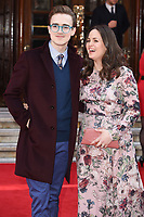 Tom and Giovanna Fletcher<br /> arrives for the The Prince's Trust Celebrate Success Awards 2017 at the Palladium Theatre, London.<br /> <br /> <br /> ©Ash Knotek  D3241  15/03/2017