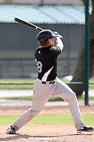 Michael Zuanich, Colorado Rockies 2010 minor league spring training..Photo by:  Bill Mitchell/Four Seam Images.