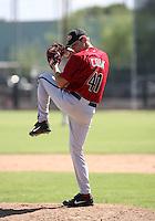 Ryan Cook / Arizona Diamondbacks 2008 Instructional League..Photo by:  Bill Mitchell/Four Seam Images